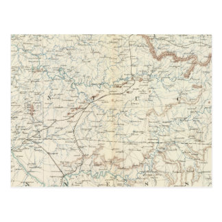 Gen map XV Postcard