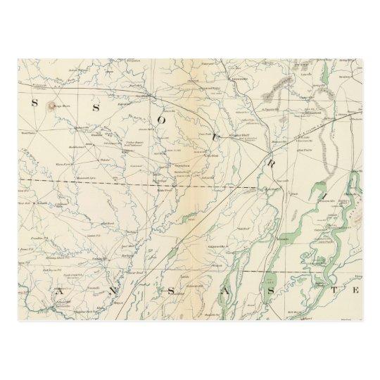 Gen map XVIII Postcard