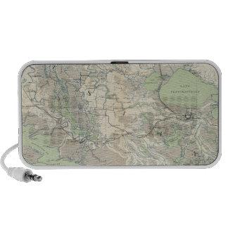 Gen map XXI iPhone Speakers