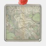 Gen map XXI Metal Ornament