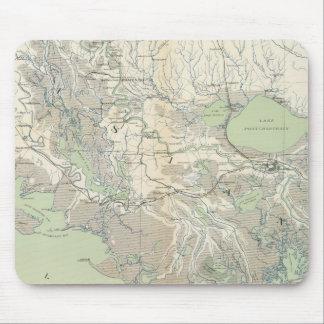 Gen map XXI Mouse Pads