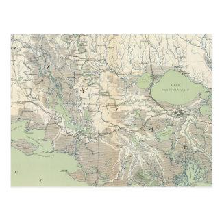 Gen map XXI Postcard