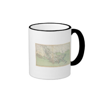 Gen map XXI Ringer Coffee Mug