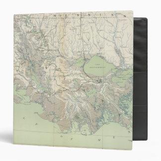 Gen map XXI Vinyl Binder