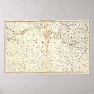 Gen map XXIV Print