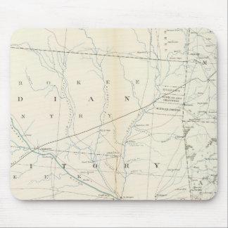 Gen map XXV Mouse Pad