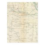 Gen map XXVI Postcard