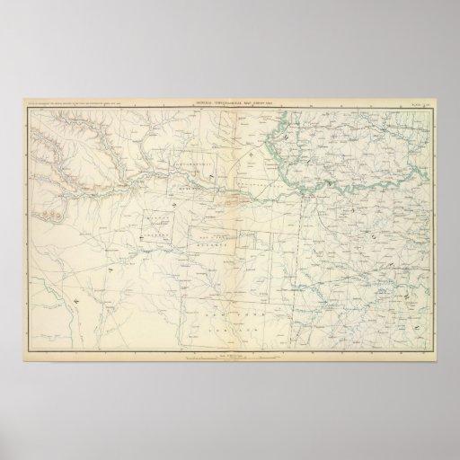 Gen map XXVI Print