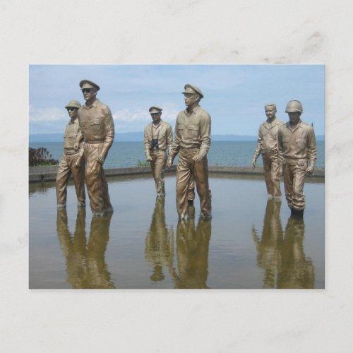 Gen. McArthur postcard