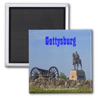 Gen. Meade en el imán de Gettysburg