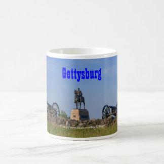 Gen. Meade en la taza de Gettysburg