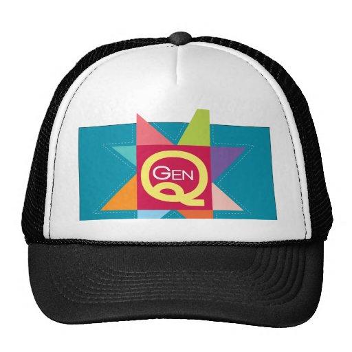Gen Q badge Trucker Hats