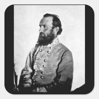 "Gen. ""Stonewall"" Jackson,_War Image Square Sticker"