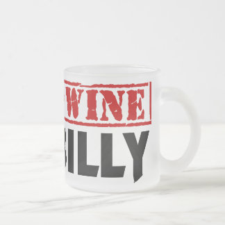 Gen U Wine Hillbilly Frosted Glass Coffee Mug