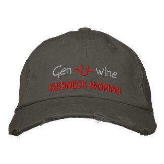 Gen U Wine Redneck Woman Embroidered Baseball Caps