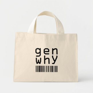 gen why mini tote bag