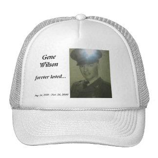Gen Wilson, gorra conmemorativo, casquillo, ballca