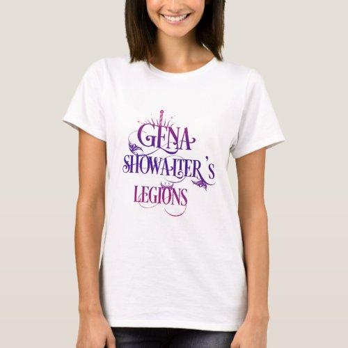 Gena Showalters Legions T_Shirt purple
