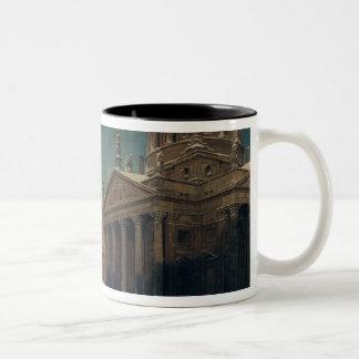 Gendarmenmarkt en invierno, 1857 tazas de café