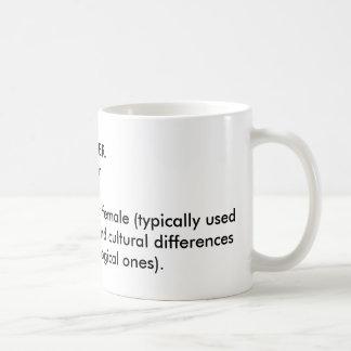 Gender Definition Coffee Mug