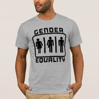 GENDER EQUALITY: Transgender LGBT Bathroom Law T-Shirt
