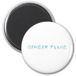 Gender fluid 2 inch round magnet