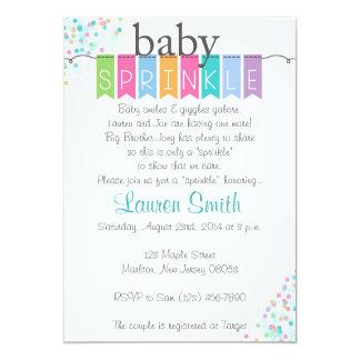 Gender Neutral Baby Sprinkle Invitations
