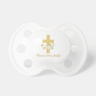 Gender Neutral Baptism | Personalized Pacifier