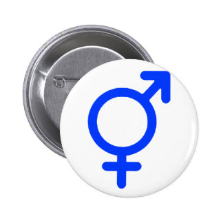 Gender Neutral Blue The MUSEUM Zazzle Gifts Pinback Button