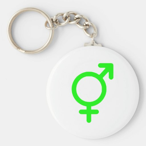 Gender Neutral Green The MUSEUM Zazzle Gifts Key Chain