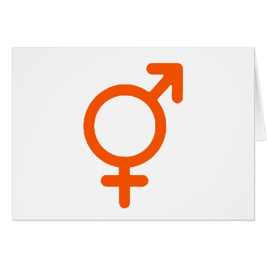 Gender Neutral Orange The MUSEUM Zazzle Gifts Card