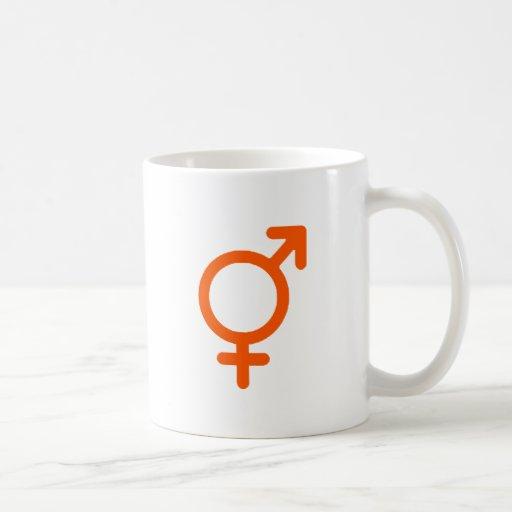 Gender Neutral Orange The MUSEUM Zazzle Gifts Coffee Mug