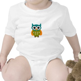 Gender Neutral Owl Shirt