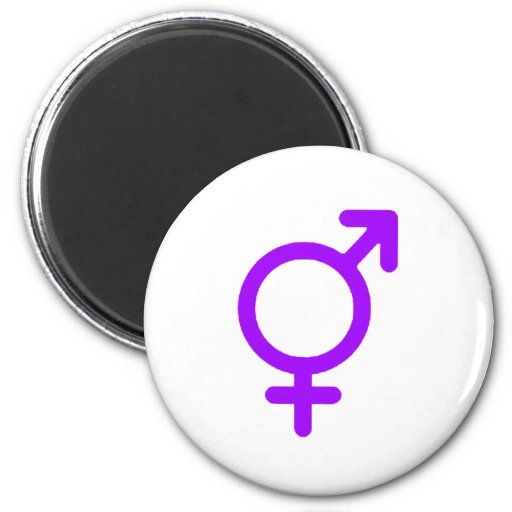 Gender Neutral Purple The MUSEUM Zazzle Gifts Magnet