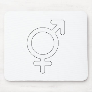 Gender Neutral White The MUSEUM Zazzle Gifts Mouse Pad