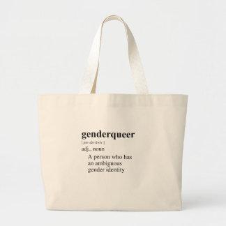 GENDER QUEER CANVAS BAGS