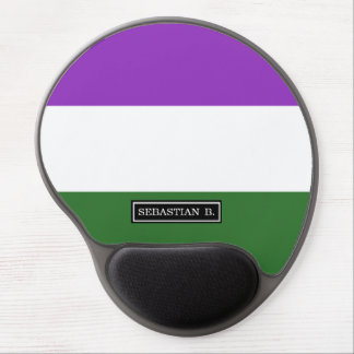 Gender Queer Pride Flag Gel Mouse Pad