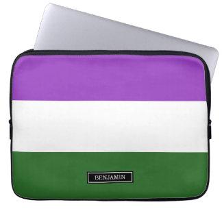 Gender Queer Pride Flag Laptop Sleeves