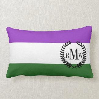 Gender Queer Pride Flag Lumbar Pillow