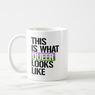 Gender Queer - This is what Queer looks like - - L Coffee Mug