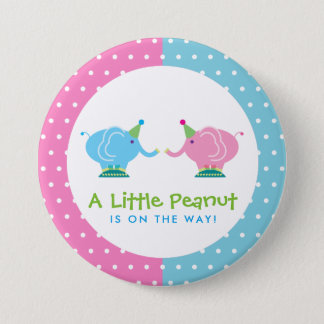 Gender Reveal - Baby Elephant -Little Peanut Button