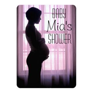 Gender reveal, baby shower card