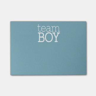 Gender Reveal Baby Shower - Team Blue Boy Post-it Notes