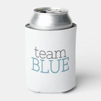 Gender Reveal Baby Shower - Team Blue Can Cooler