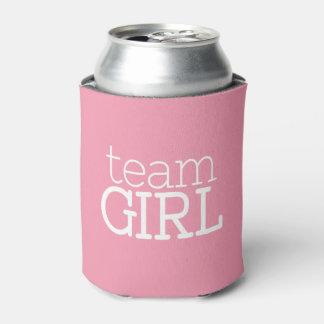 Gender Reveal Baby Shower - Team Pink Girl Can Cooler