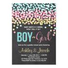 Gender reveal invitation Baby shower Boy or Girl