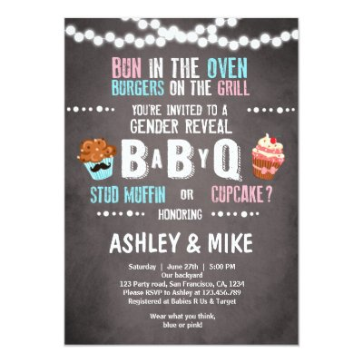 Gender reveal party invitation Rustic Wood Shower Zazzlecom
