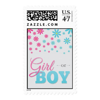 Gender Reveal Party Daisy Postage