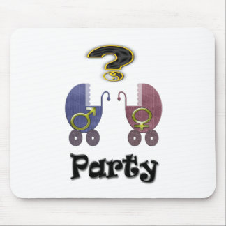 Gender Reveal Party Mouse Pad