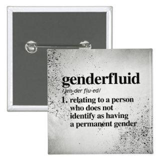 Genderfluid Definition - Defined LGBTQ Terms - Pinback Button